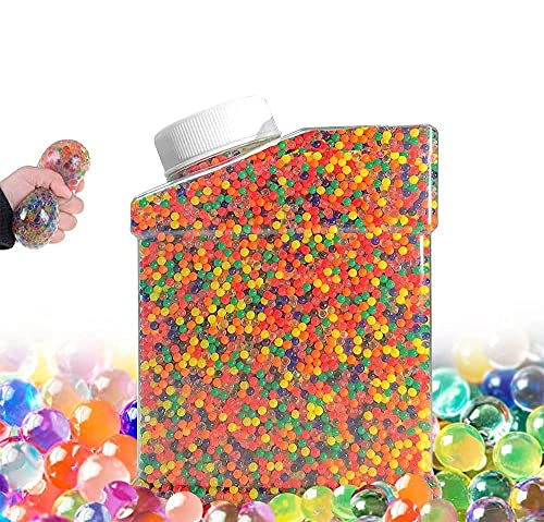 FeiXia Wasserperlen Dekorative Granulate Wassergel-Kugeln Wasserperlen Mix Aquaperlen Gel-Perlen für Vasen Dekoration(zusätzliche 5 Luftballons enthalten (set2)