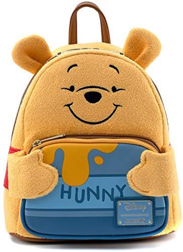 Loungefly Disney Winnie the Pooh Hunny Tummy Womens Double Strap Shoulder Bag Purse