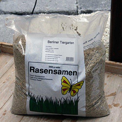 Schola Berliner Tiergarten 1,0 kg | Spezialgrassamen für dichten, kräftigen Rasen