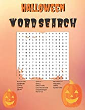 Halloween Word Search: Halloween Themes   Word Search For Kids, Teens, Adults & Seniors   40 Puzzles With Solutions   8.5