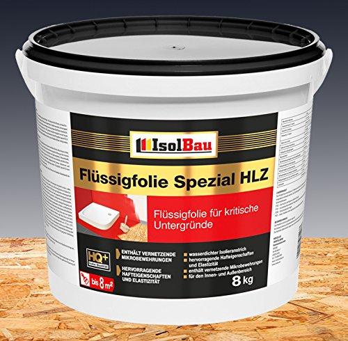 Flüssigfolie Spezial HLZ 8 kg Dichtfolie Abdichtung Balkon Bad Dusche Küche