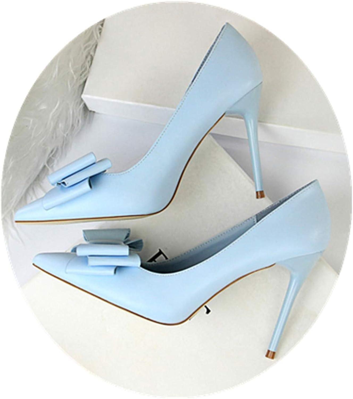 Micca Bacain Woman 10cm High Heels shoes Female Heels Stiletto Wedding Valentine Pumps