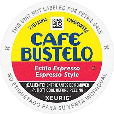 Cafe Bustelo Café Bustelo Espresso Style Dark Roast Espresso Style Coffee, 72 K Cups for Keurig Makers
