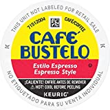 Cafe Bustelo Café Bustelo Espresso Style Dark Roast Espresso Style Coffee, 72 K Cups for Keurig Makers