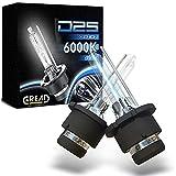 Gread 2 bombillas de xenón D2S de luces   6000 K 35 W 100% ajuste y larga vida útil