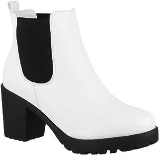 ac76e31db6c41 Amazon.fr : bottines blanches : Chaussures et Sacs