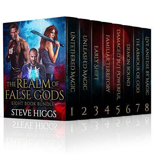 The Realm of False Gods 8 Book Bundle: An Urban Fantasy Saga (English Edition)