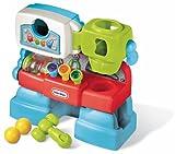 little tikes- Bebés y Primera infanciaBancos con martilloLITTLE TIKESBanco de Trabajo Luces y Sonidos, Multicolor (1)