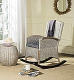 Safavieh Home Collection Verona Antique Grey Rocking Chair