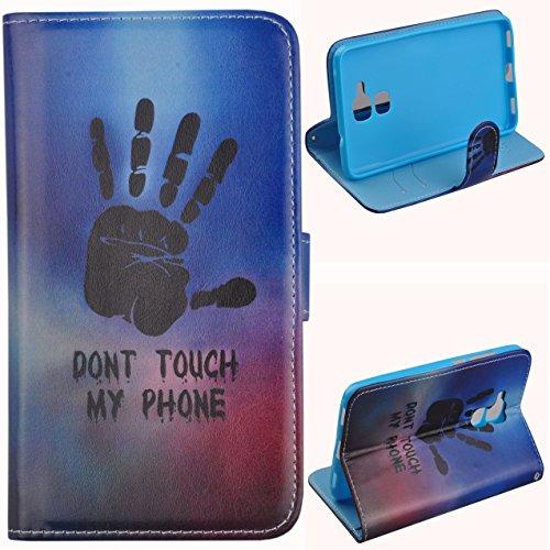 Voguecase Per Huawei Honor 5C, (palma) Elegante borsa in pelle Custodia Case Cover Protezione chiusura ventosa Con Stilo Penna