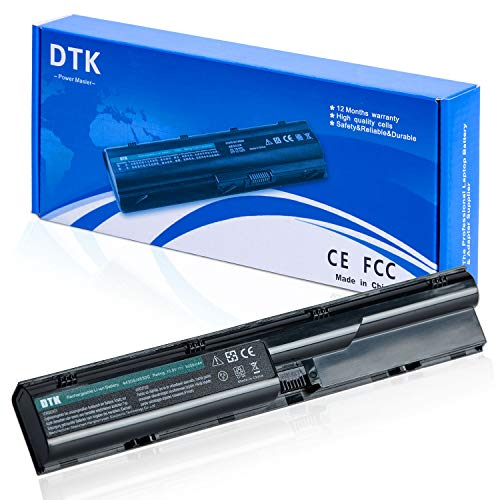 DTK Laptop Battery Replacement for Hp Probook 4330s 4331s 4430s 4431s 4435s 4530s 4535s 4536s 4440s 4441s 4446s 4540s 4545s Series [6-Cell 10.8v 4400mah]