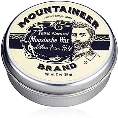Mustache Wax by Mountaineer