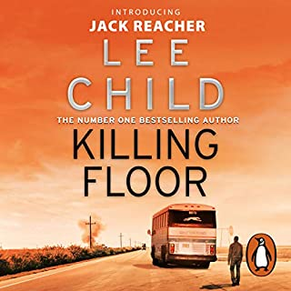Killing Floor     Jack Reacher, Book 1              By:                                                                                                                                 Lee Child                               Narrated by:                                                                                                                                 Jeff Harding                      Length: 15 hrs and 39 mins     1,401 ratings     Overall 4.5