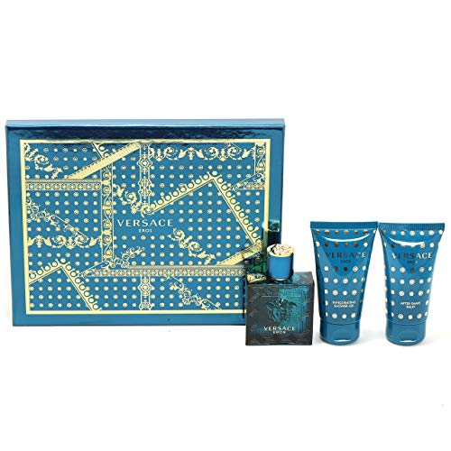 Versace Versace Eros For Men 3 Pc Gift Set