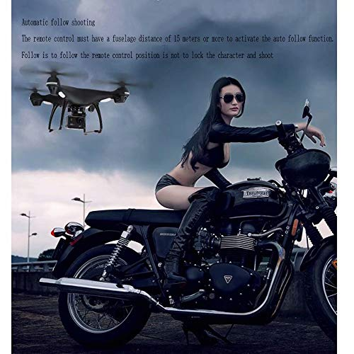 Fernbedienung Flugzeuge GPS Drohne Luftfahrzeug HD 4k Lange Lebensdauer 16 Millionen 400 * 400 * 160MM