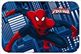 Star Licensing Marvel Spiderman Alfombra, poliéster, Multicolor, 40 x 60 x 1 cm
