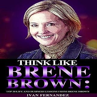 Think Like Brene Brown audiobook cover art