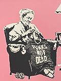 MBPOSTERS Banksy Street Art Punks NOT Dead Poster in Sizes