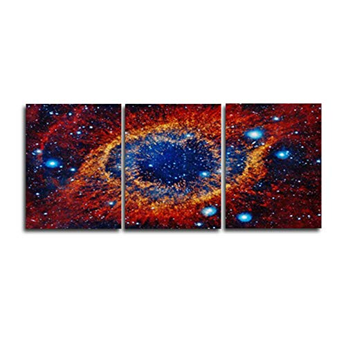 N / A Abstract Science Fiction Universe Wall Art Poster Canvas Painting Family Living Room Bedroom Decoration Frameless 60x75cm