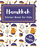 Hanukkah Sticker Book for Kids: Blank Collecting Album for Favorite Stickers Gift