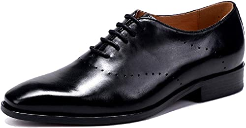 NIUMT , Chaussures de Ville à Lacets pour Homme