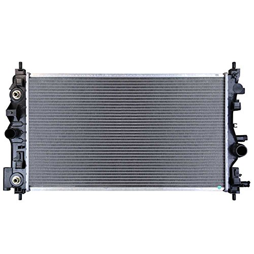 AutoShack RK1703 26.8in. Complete Radiator Replacement for 2011-2015 Chevrolet Cruze 2016 Cruze Limited 1.4L 1.8L