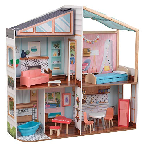 KidKraft Designed by Me Magnetic Makeover Dollhouse, Multicolor
