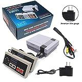 BeiLan Plug & Play Classic Mini Console, Mini Retro Game Player Built-in