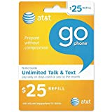 AT&T GoPhone $25 Refill Card