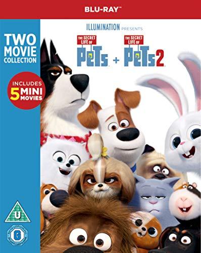 The Secret Life of Pets 2 Box Set (BD) [Blu-ray] [2019] [Region Free]