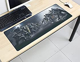 Rainbow Six Siege Mouse Pad 800X300X2Mm Pad Mouse Computer Mouse Pad Best-Selling Game Padmouse Game Player Keyboard Mouse Pad B