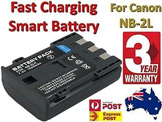 Timetech NB-2L NB-2LH BP-2LH Battery for Canon EOS 350D 400D Digital Rebel XT XTi Kiss N
