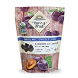 ORGANIC Pitted Prunes - Sunny Fruit 40oz Bulk Bag (2.5 lbs)   Purely Dried Prunes - NO Added Sugars,...
