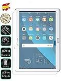 Movilrey Protector para Huawei Mediapad M2 10 Cristal Templado de Pantalla Vidrio 9H para Tablet