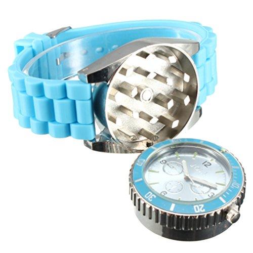 TANKACE Grinder Reloj con grinder magnético oculto para Hierbas y Especias 42mm