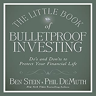 The Little Book of Bulletproof Investing cover art