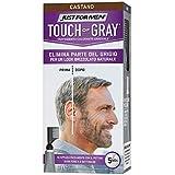 Just for Men Touch of Gray, Castano, Trattamento Colorante Graduale, Con Pettine Applicatore, Elimina Parte Del Grigio Per Un Look Brizzolato Naturale