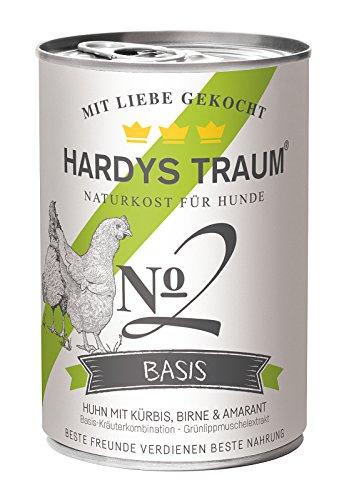 HARDYS 121221 Nassfutter Basis Huhn No. 2, 6er Pack (6 x 400 g)