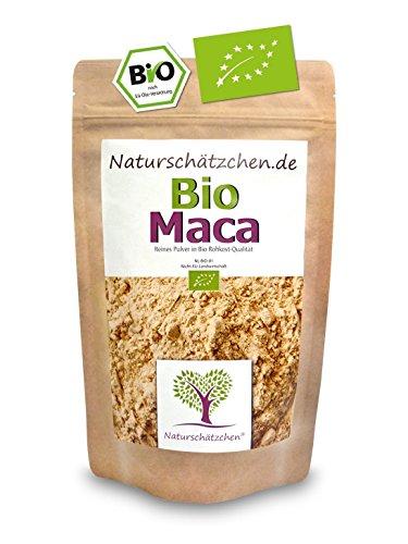 Bio Maca Pulver (Macapulver) in geprüfter Bio-Qualität (DE-ÖKO-22) (250g) (1)