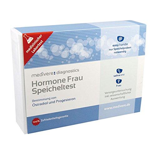 HORMONE Frau Speicheltest 1 St