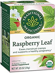 Red raspberry leaf tea to induce labor