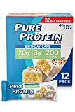 Pure Protein Bars, High Protein, Nutritious Snacks to Support Energy, Low Sugar, Gluten Free, B…