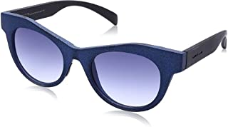 نظارة شمس بعدسات شكل عين القطة ازرق متدرج للنساء من ايطاليا انديبندنت - ازرق