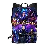 RyanCSchmitt Descendants 3 Girls Backpack Bookbags Daypack For Travel/School/College/Cycling