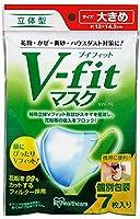 アイリスオーヤマ マスク 大きめ 立体 Vフィット 7枚入 個包装 NVK-7RL(PM2.5 花粉 黄砂対応)