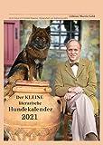 Der KLEINE literarische Hundekalender 2021: Literarischer Monatkalender