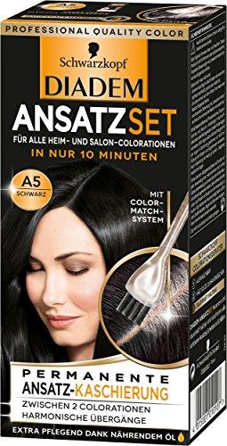 SCHWARZKOPF DIADEM Ansatzset A5 Schwarz Stufe 3, 3er Pack (3 x 22 ml)