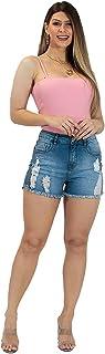 Shorts Jeans Imporium Feminino Cós Alto Cintura Alta 45155