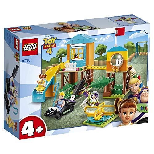 LEGO Juniors Avventura Al Parco Giochi di Buzz e Bo Peep, Gioco per Bambini, Multicolore, 262 x 191x 72 mm, 10768