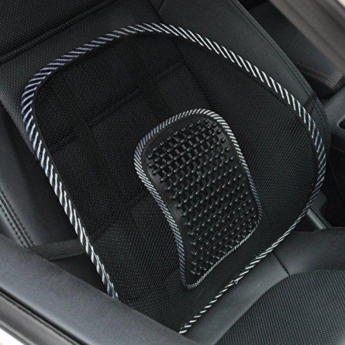 ランバーサポート クッション マッサージ 体圧分散 姿勢矯正 腰当て 腰痛対策 メッシュ 通気性抜群 腰枕 車...